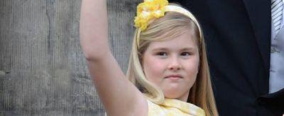 A los 9 años, Catalina Amalia es la heredera