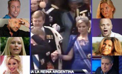 Los imperdibles tweets de los famosos en plena coronación de Máxima