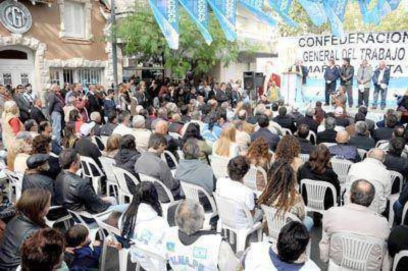 En un marco de unidad la CGT local celebró el Día del Trabajador