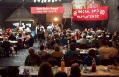 El Socialismo Marplatense conmemoró el Día del Trabajador