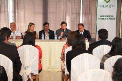En San Lorenzo se puso en marcha el Programa Multiplicar