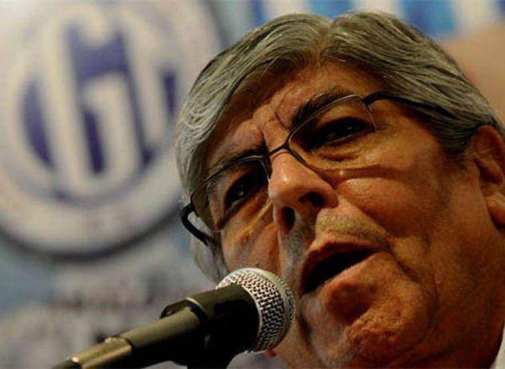 """Moyano: por no actualizarse Ganancias, """"no cobran aguinaldo millones de trabajadores """""""