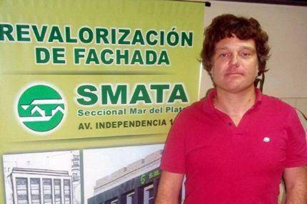SMATA lanzó una campaña de vacunación antigripal, que comenzará el próximo lunes