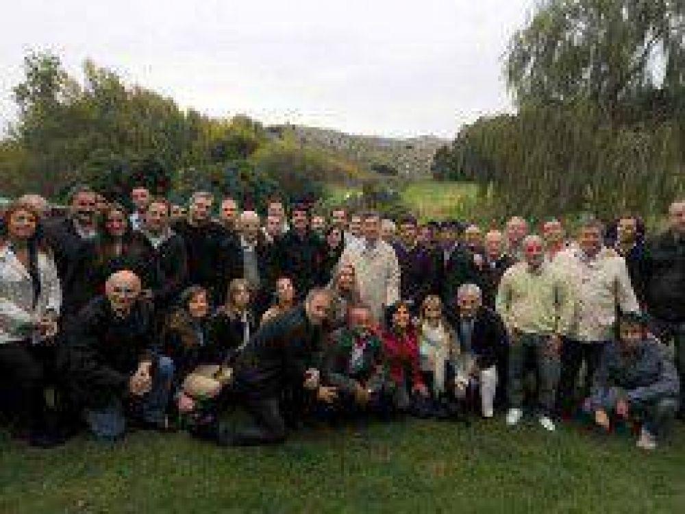 Elecciones 2013: Macri reunió a sus candidatos bonaerenses en Tandil