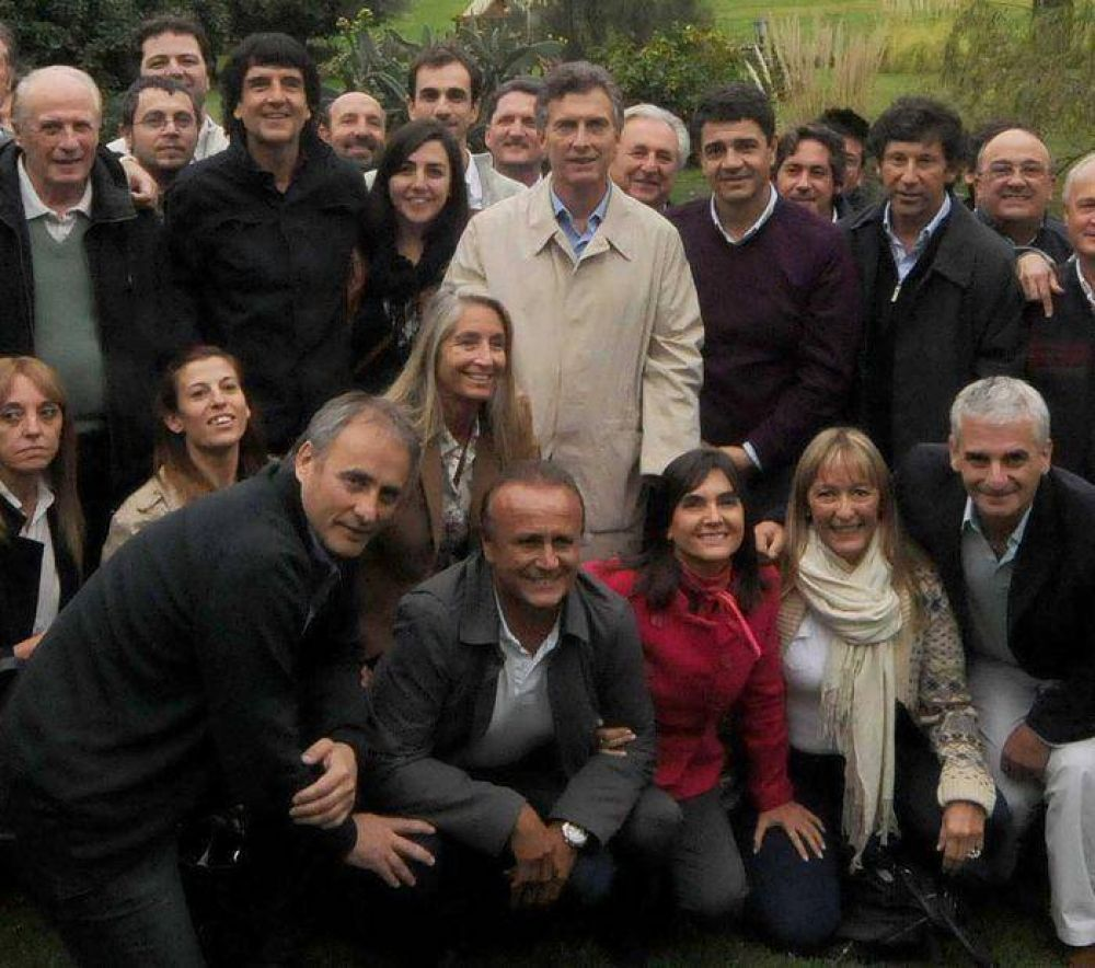 Horacio Buitrago viajó a Tandil para reunirse con Mauricio Macri