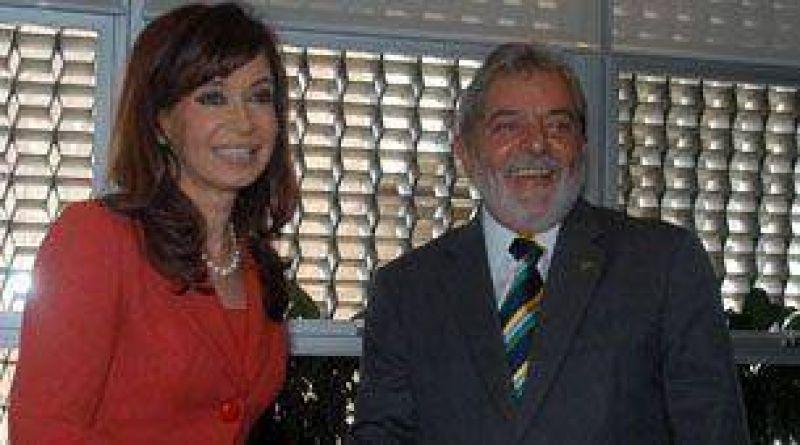Hoy, Cristina Kirchner y Lula mantendrán un encuentro