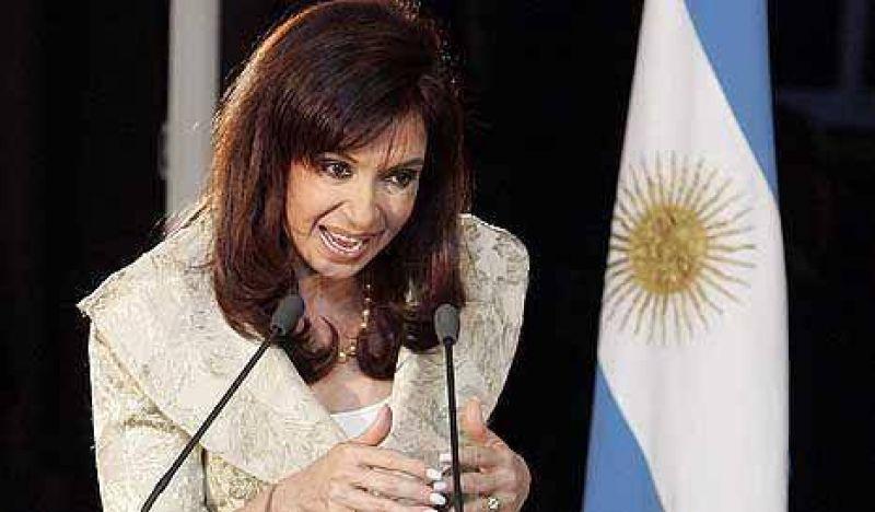 CFK reclamó un trabajo conjunto de los tres poderes contra el delito