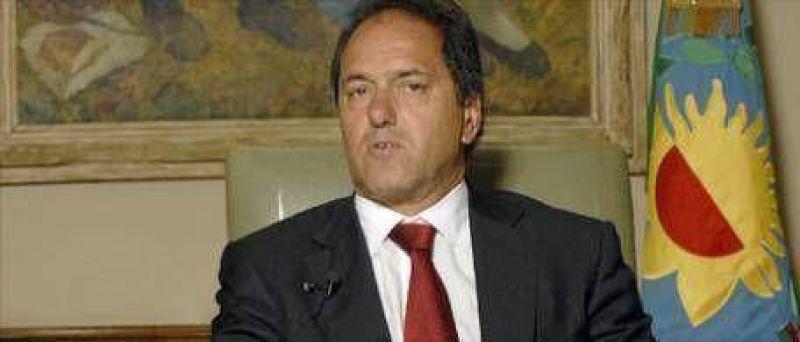 Scioli usará 1.600 millones de fondos previsionales