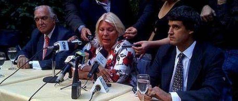 """Elisa Carri� se lanz� con todo: """"Nosotros impulsamos a nuestros mejores dirigentes; Macri los usa"""""""