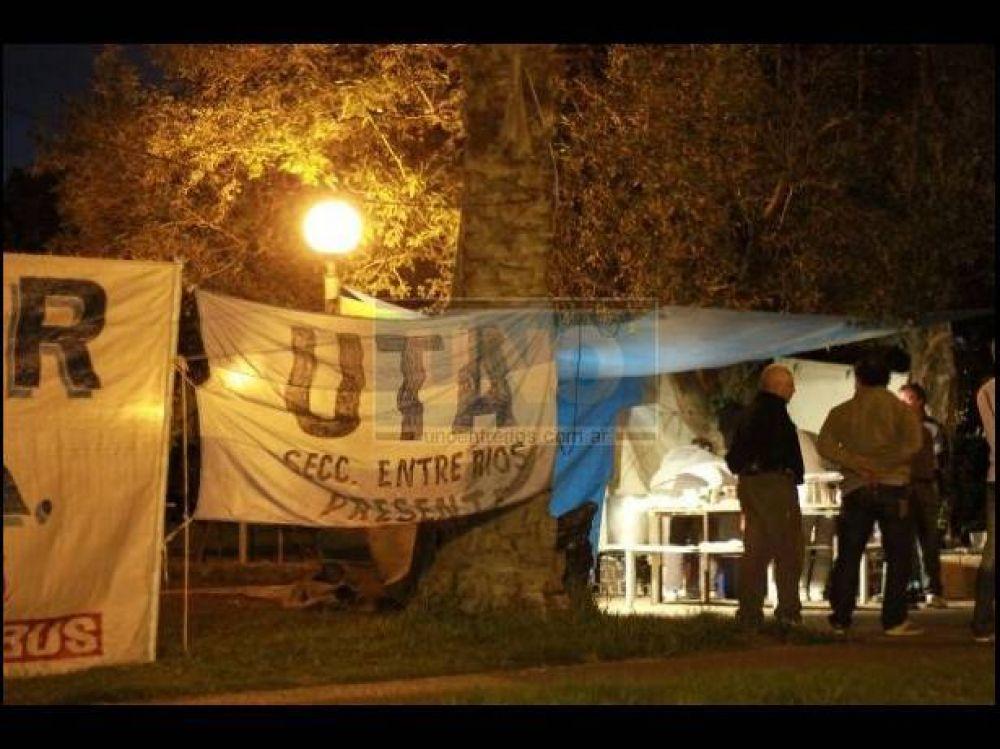 """Según UTA Entre Ríos, la continuidad del paro es """"un tema ajeno"""" al gremio"""