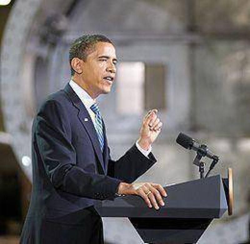 """En el Día Mundial de la Tierra, Obama lanza su """"revolución energética"""""""