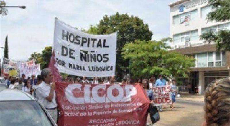 Comenzó un nuevo paro de CICOP por 72 horas en hospitales de la Provincia