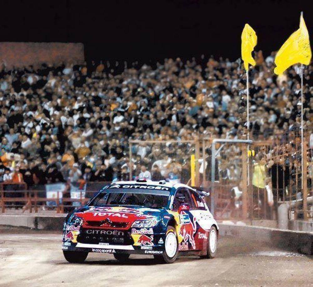 Córdoba es el epicentro de la gran fiesta del rally mundial.