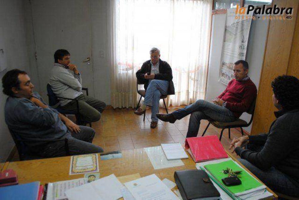 Garcés mantuvo reuniones con instituciones en Villalonga
