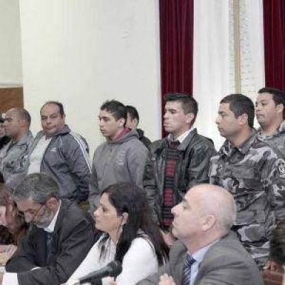 Píparo: tres acusados pidieron justicia y otro se arrepintió acusados caso Piparo juntoa a sus abogados
