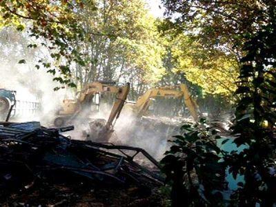 Alicia Pierini pide el urgente traslado del peligroso asbesto que quedó en el predio del Hospital Borda