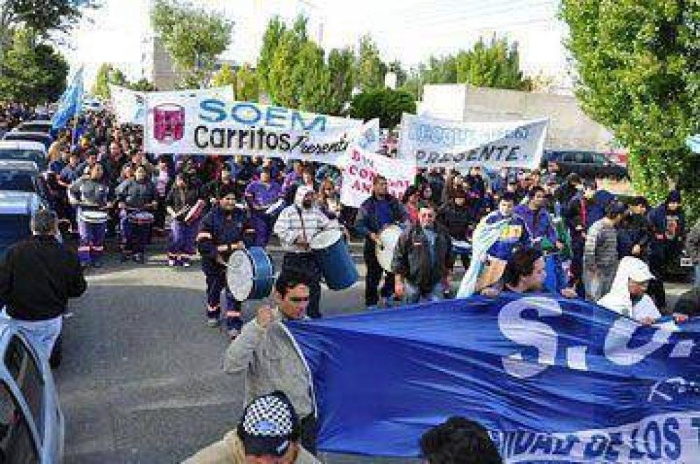 SOEM Río Gallegos recordó otro aniversario de la represión de 2007