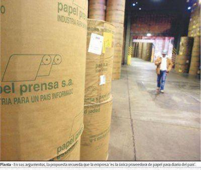 Diputados del FPV impulsan un proyecto para expropiar el 24% de Papel Prensa