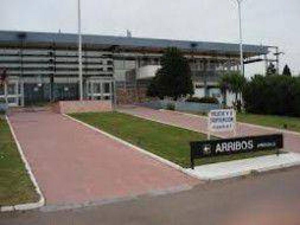 Protesta de Ate en el Aeropuerto de Bahía Blanca
