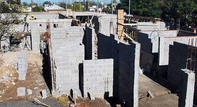 Avanza la construcción del Servicio Municipal Territorial N° 4