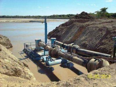 Optimizan la provisión de agua desde el rio bermejo para el embalse de Yema