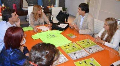 Ayala y Ciudad Limpia ajustaron detalles para la 2º Maratón Convivencia