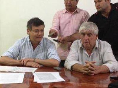 Peppo acordó mejoras y nuevas viviendas para Pampa del Infierno