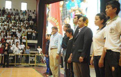 El gobernador Urtubey encabezó el lanzamiento oficial de los Juegos Evita 2013 en Orán
