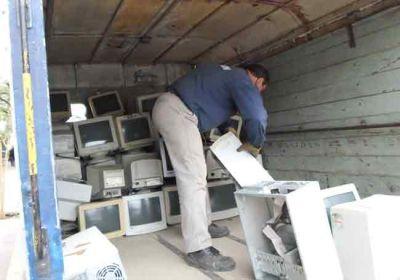 Se inici� el programa de recuperaci�n de basura electr�nica