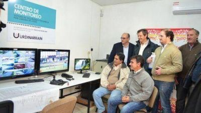 Se puso en marcha el sistema de videovigilancia en Urdinarrain
