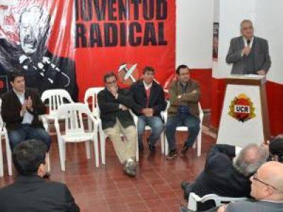 El Radicalismo proclamó a la nueva conducción hasta 2015