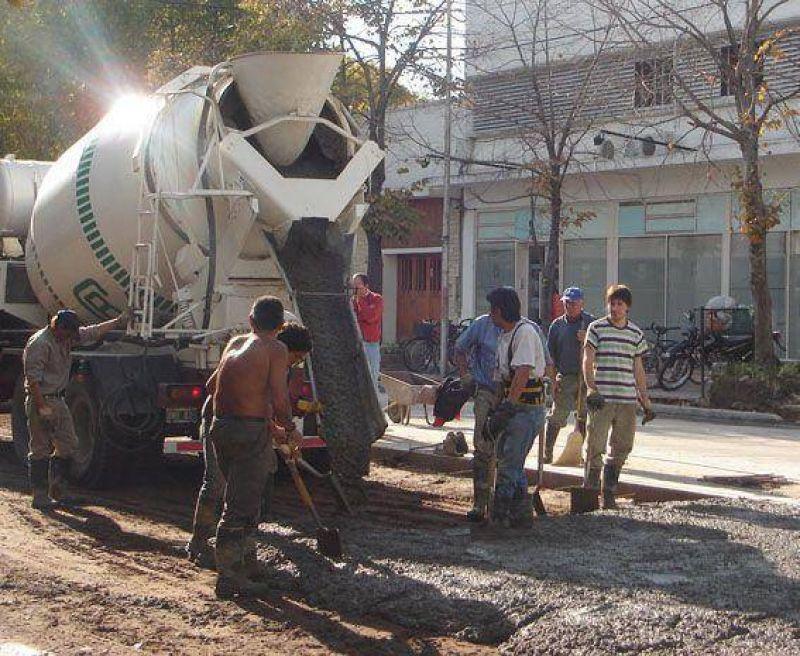 En los próximos días se estaría finalizando la repavimentación de la avenida San Martín