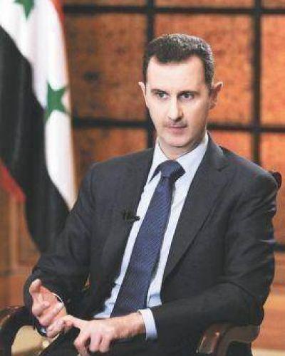 El presidente Al Assad no descartó un ataque de países occidentales a Siria