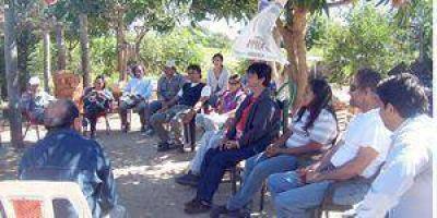 Programa frutícola del PAIPPA en varias colonias