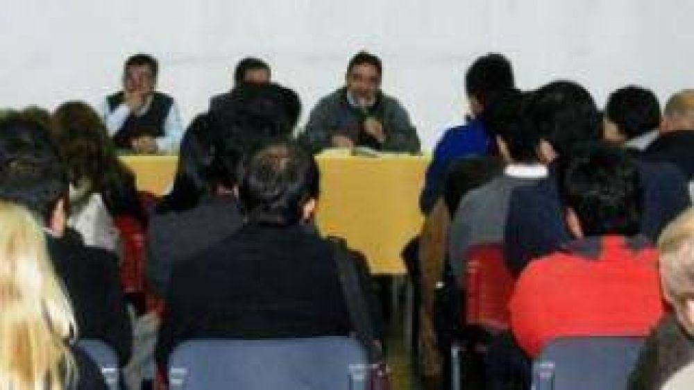 Jalil instó a su equipo a desburocratizar al máximo la gestión
