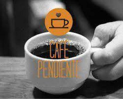 """El """"Café pendiente"""" en Corrientes comenzó a tener buena respuesta"""