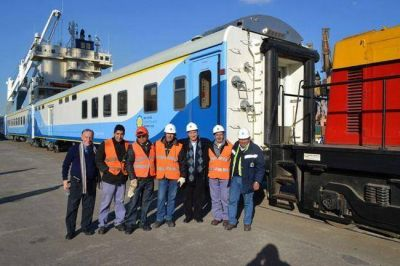 Los ferroportuarios de APDFA celebraron la estatización del Belgrano Cargas
