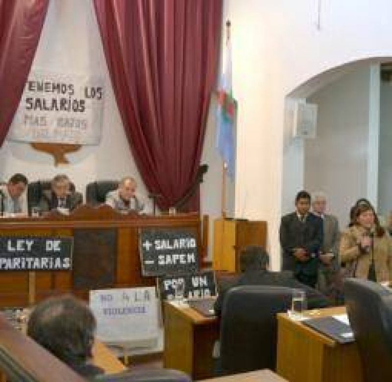 El Concejo Deliberante sigue paralizado por un reclamo salarial
