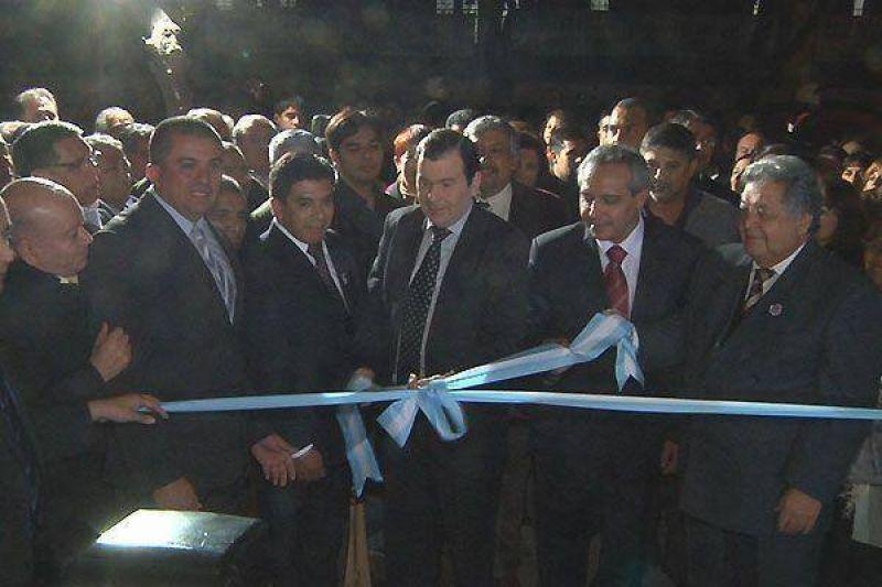 Zamora dejó inaugurado local del Sindicato de Empleados de Farmacia