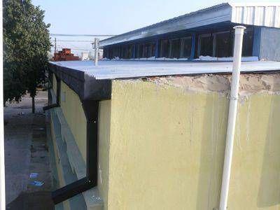 Jardín 909: Completan la instalación de la cubierta