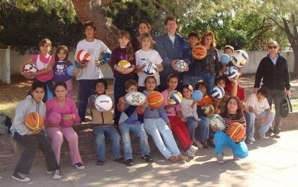 El programa Patios Abiertos comenzó a funcionar nuevamente en la Escuela Nº 38