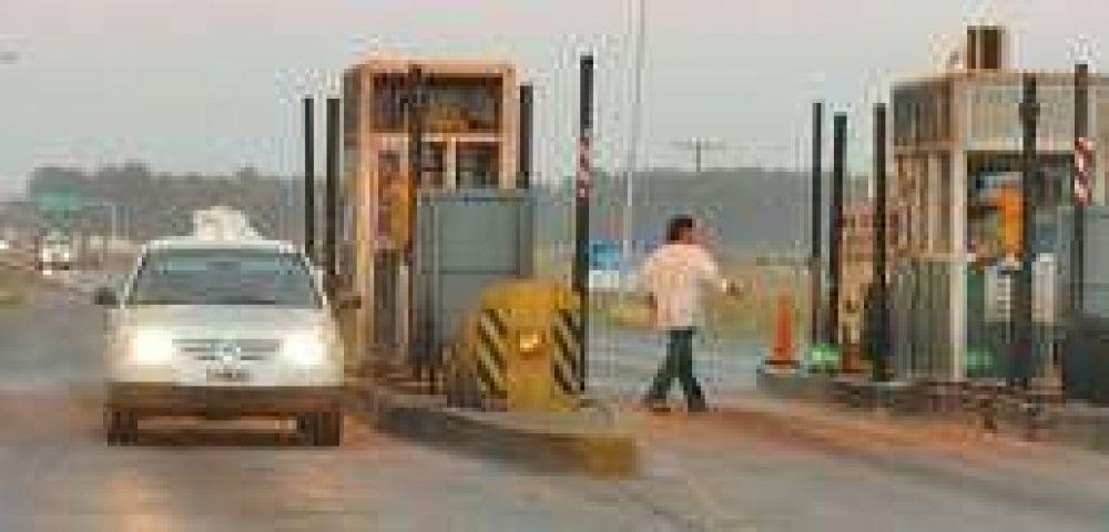 Automovilistas se rebelaron y no pagan más el peaje de la ruta 9