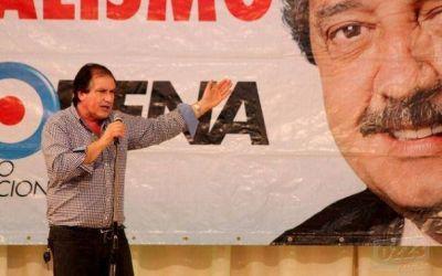 En medio del tradicional locro del 25, Serebrinsky lanzó su candidatura