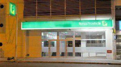 Scioli y Mart�n inauguran la obra de remodelaci�n del Banco Provincia