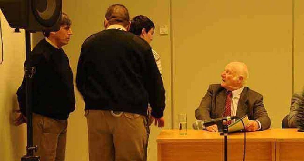 Jornada de alegatos en el juicio a Matzkin