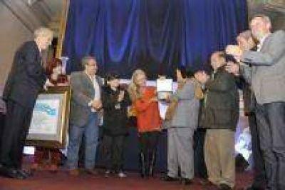 Vilariño participó del homenaje a Horacio Guarany
