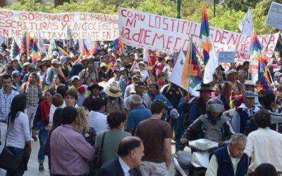 En Mecoyita reclaman la entrega de tierras