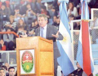 """""""La década ganada es el siglo ganado"""", dijo Sergio Urribarri"""