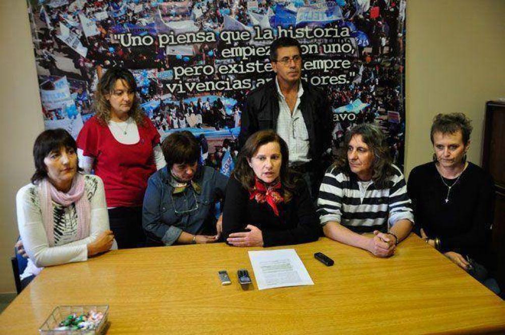 """UTELPA lanzó un paro y pidió """"democratizar"""" el Ministerio de Educación y las escuelas"""