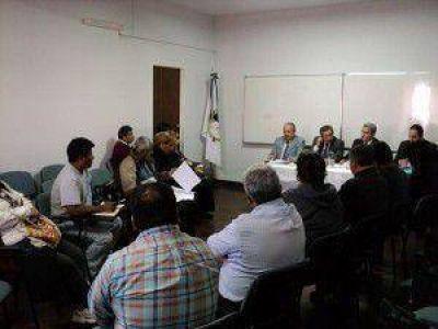 Prosiguen las reuniones por la reglamentación de la ley de pase a planta permanente